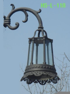 outdoor lamp post head