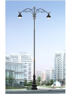 cast aluminum lighting pole